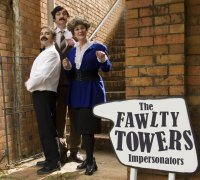 The Fawlty Towers Impersonators Christmas Dinner and Show